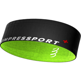 Compressport Free Cintura, black/lime